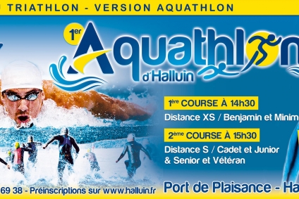 Inscriptions à la 12e édition du triathlon version aquathlon