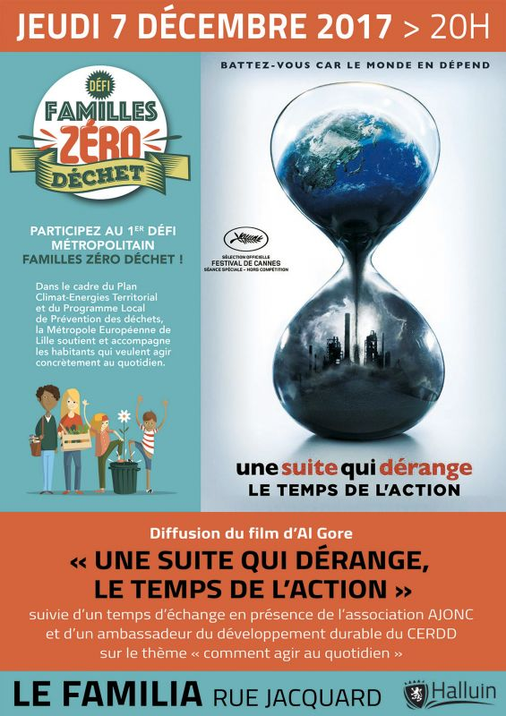 Projection du film « Une suite qui dérange, le temps de l'action »