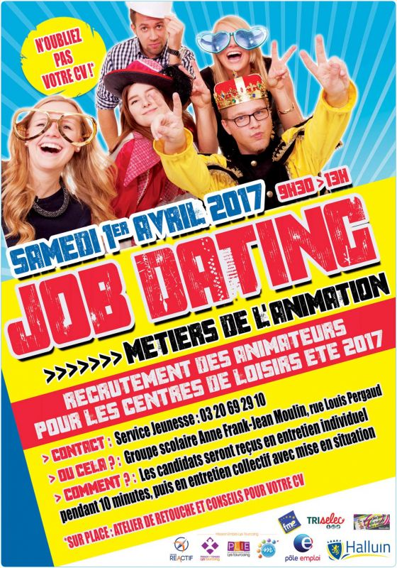 Job dating métiers de l'animation