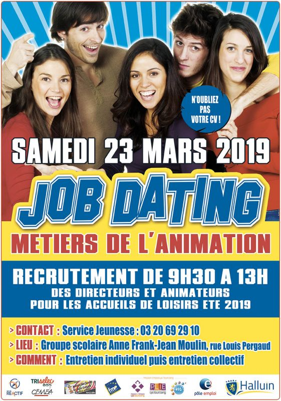 Job Dating spécial animation