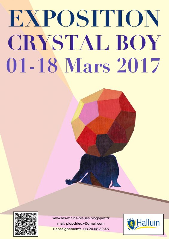 Expo Crystal Boy de Paul Drieux à la Bib