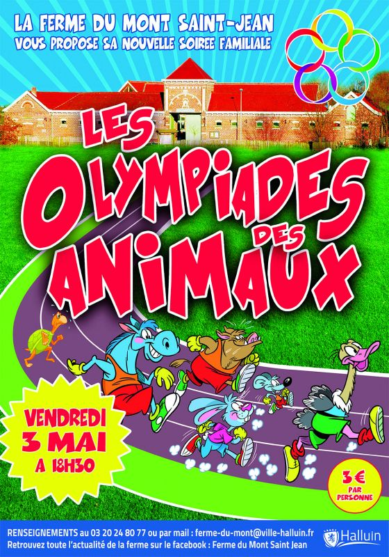 Les Olympiades des animaux !