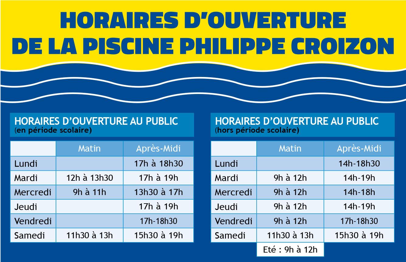 Fermeture de la piscine pour la vidange annuelle ville d for Piscine halluin